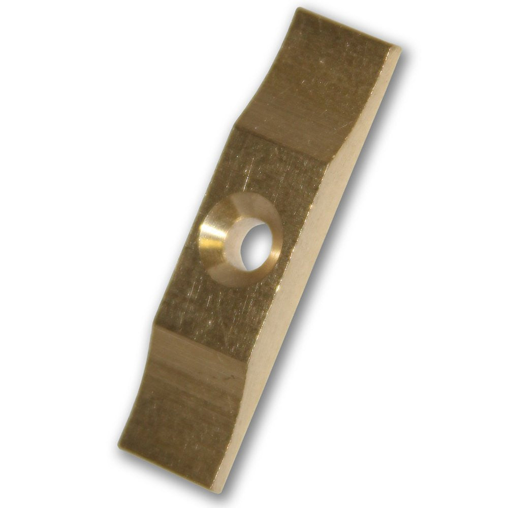 Solid Brass Turn Button - 36mm (Pack of 2) - RKL Tools & Hardware