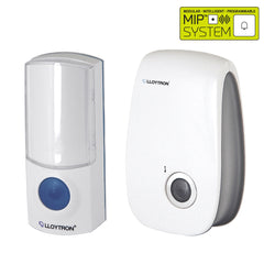Lloytron - Plug-In Wireless Door Bell - MiP System - White - RKL Tools & Hardware  - 1