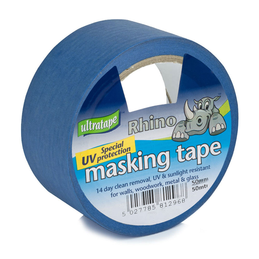 Ultratape - Blue UV Protection Masking Tape - 50mm x 25m