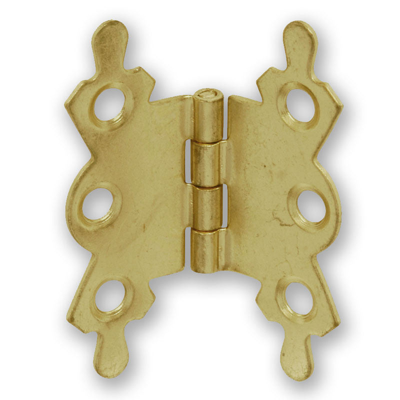 Electro Brass Plated Butterfly Hinge