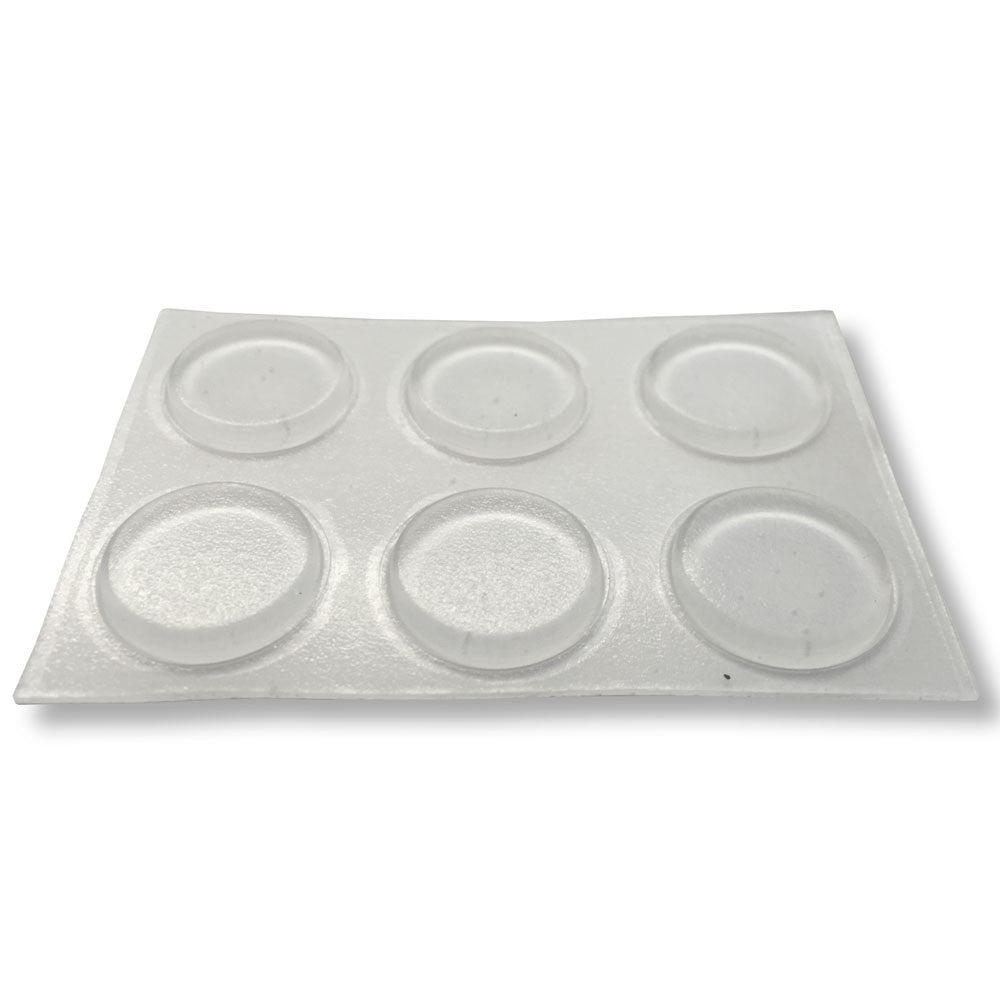 Clear Buffer Pads - Round - RKL Tools & Hardware