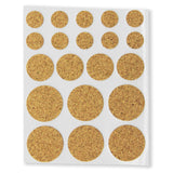Cork Furniture Pads - Round (Pack of 20) - RKL Tools & Hardware  - 1