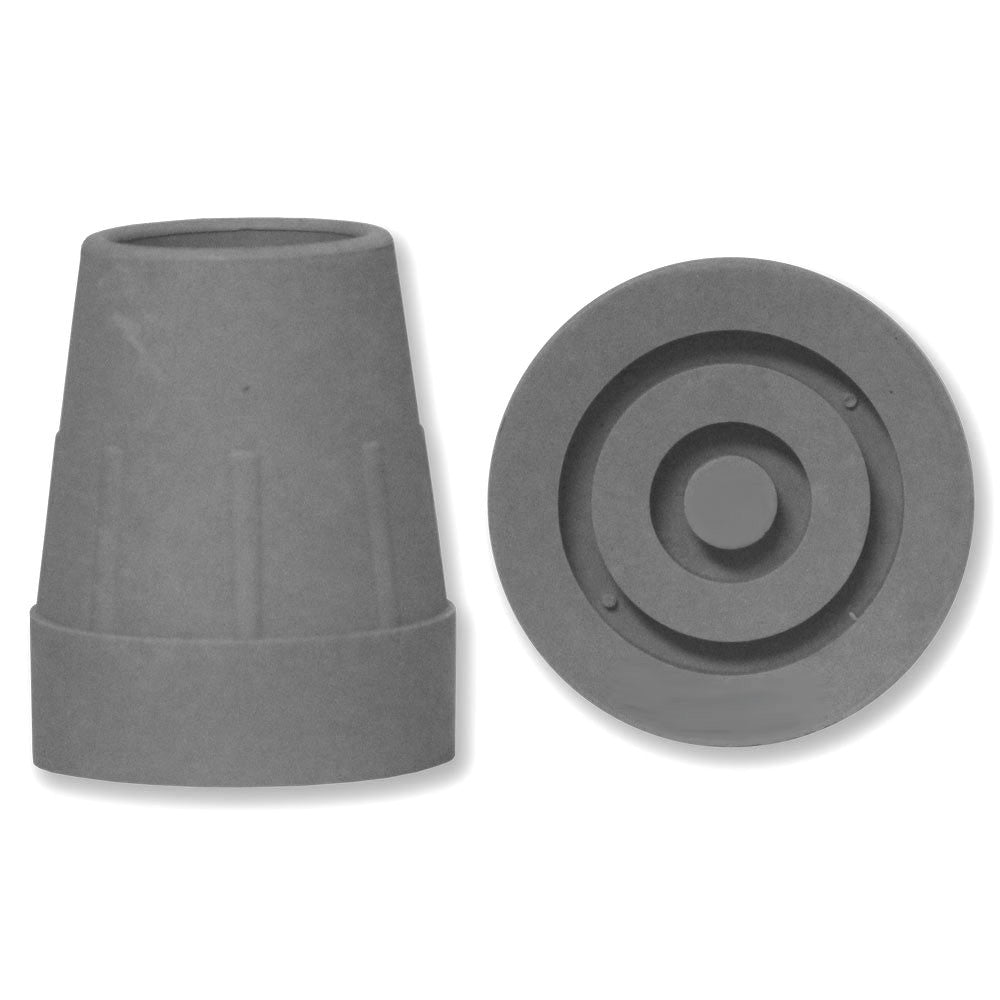 Crutch Rubber Ferrule - Grey - RKL Tools & Hardware  - 1