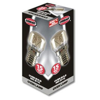Eveready Appliance Bulb - Small Edison Screw E14 Microwave / Oven Bulb - RKL Tools & Hardware  - 2