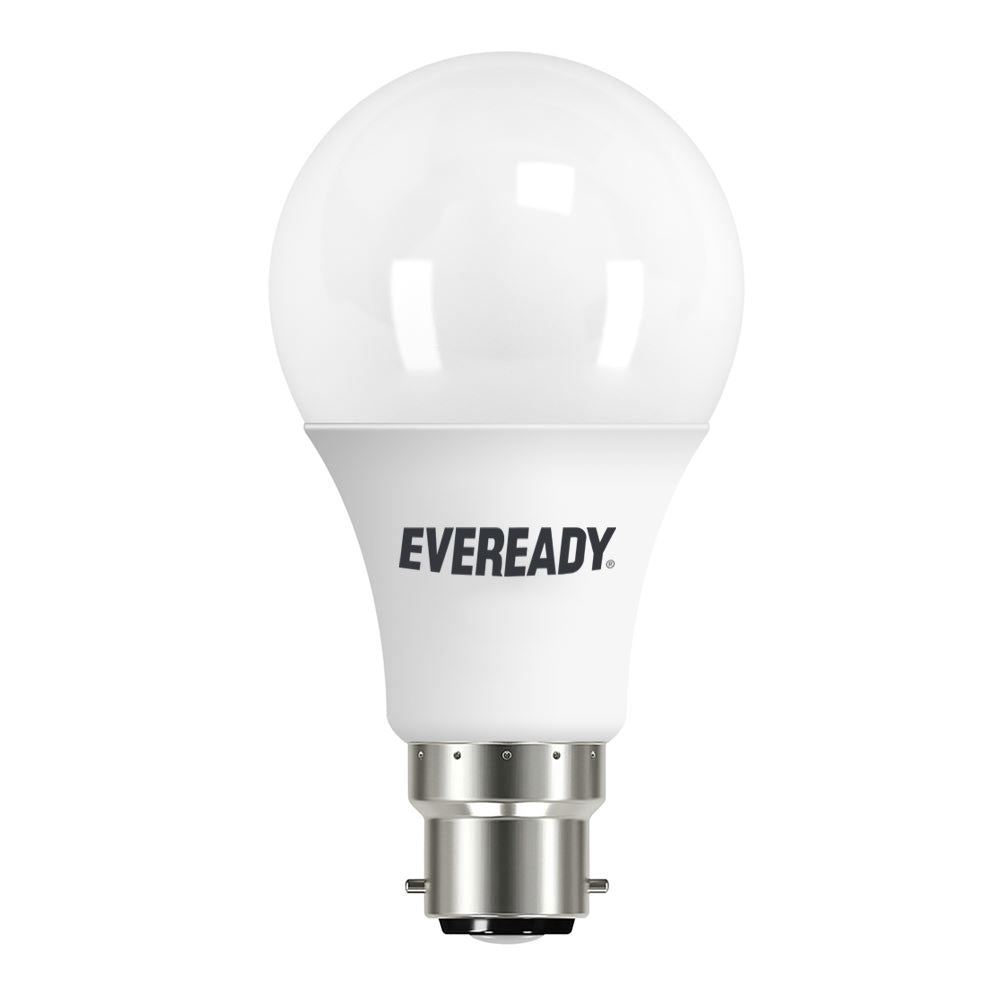 Eveready LED Light Bulb - GLS - BC - 6w / 40w Eq - Warm White
