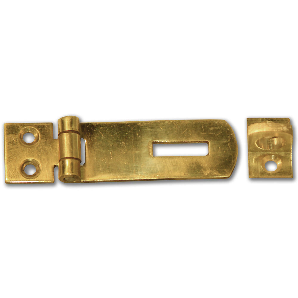 Brass Hasp & Staple - 50mm - RKL Tools & Hardware