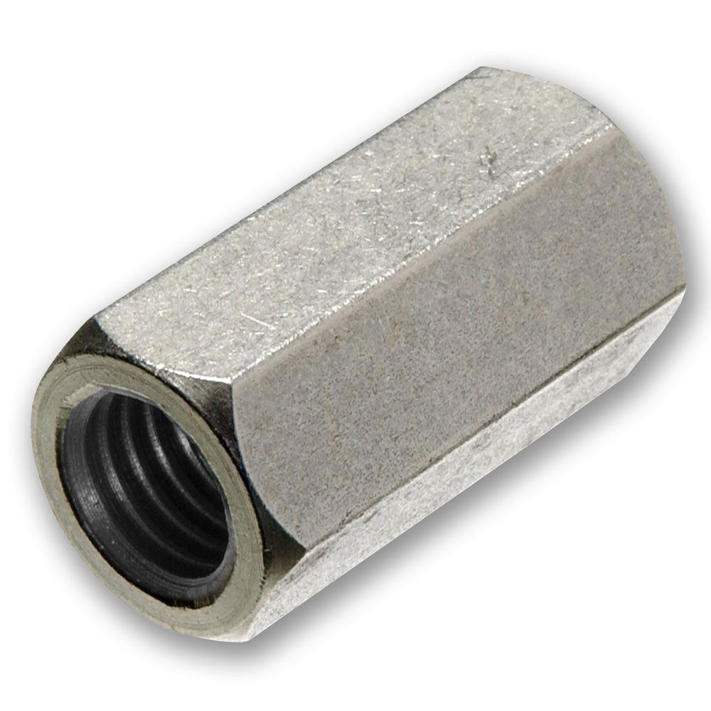 Stainless Steel Hex Rod Connector Nut - RKL Tools & Hardware  - 1
