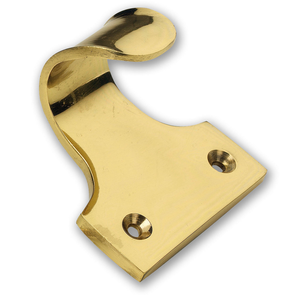 Solid Brass Sash Window Hook Lifts (Pack of 1) - RKL Tools & Hardware