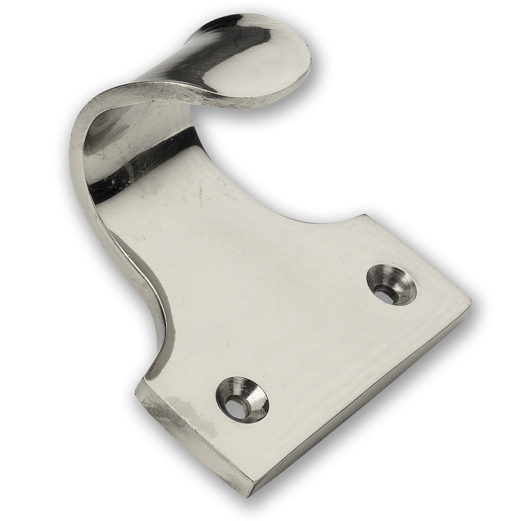 Chrome Sash Window Hook Lifts (Pack of 1)