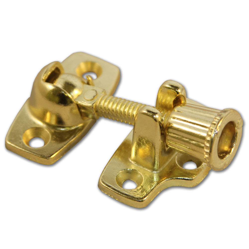 Electro Brass Sash Window Fastener (Pack of 1) - RKL Tools & Hardware
