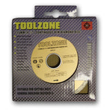 "Toolzone - Diamond Cutting Disc - 115mm (4 1/2"") - Continuous - RKL Tools & Hardware  - 2"
