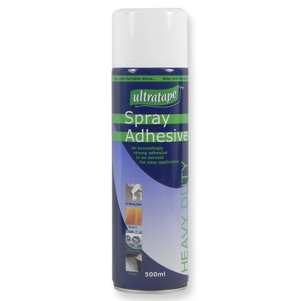 Ultratape - Heavy Duty Spray Adhesive - 500ml