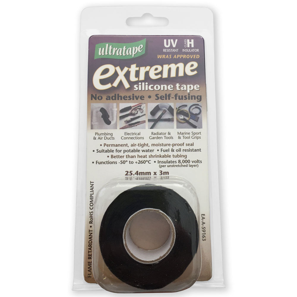 Ultratape Extreme Silicone Tape - Black