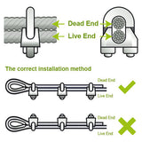 Steel Wire Rope Clamps - RKL Tools & Hardware  - 2