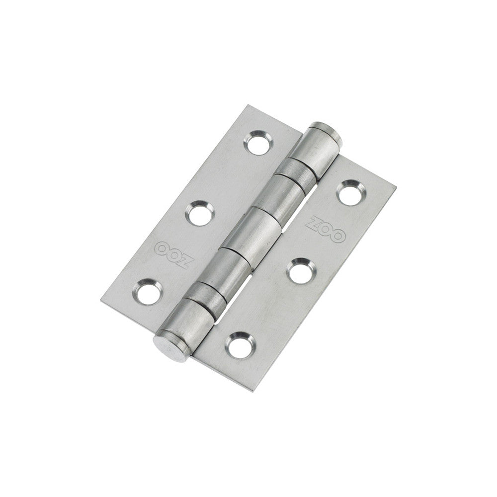 Stainless Steel Ball Bearing Hinge - 76mm (Pack of 2)