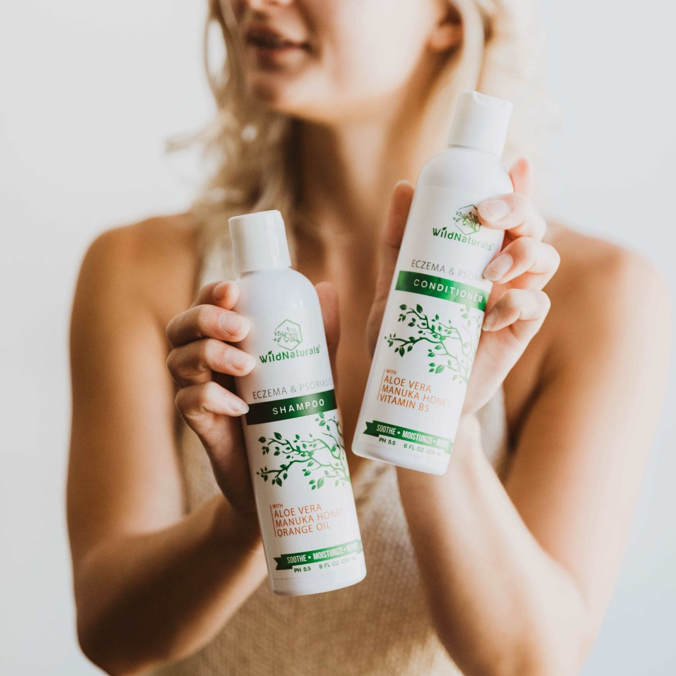 Eczema & Psoriasis Shampoo & Conditioner Set