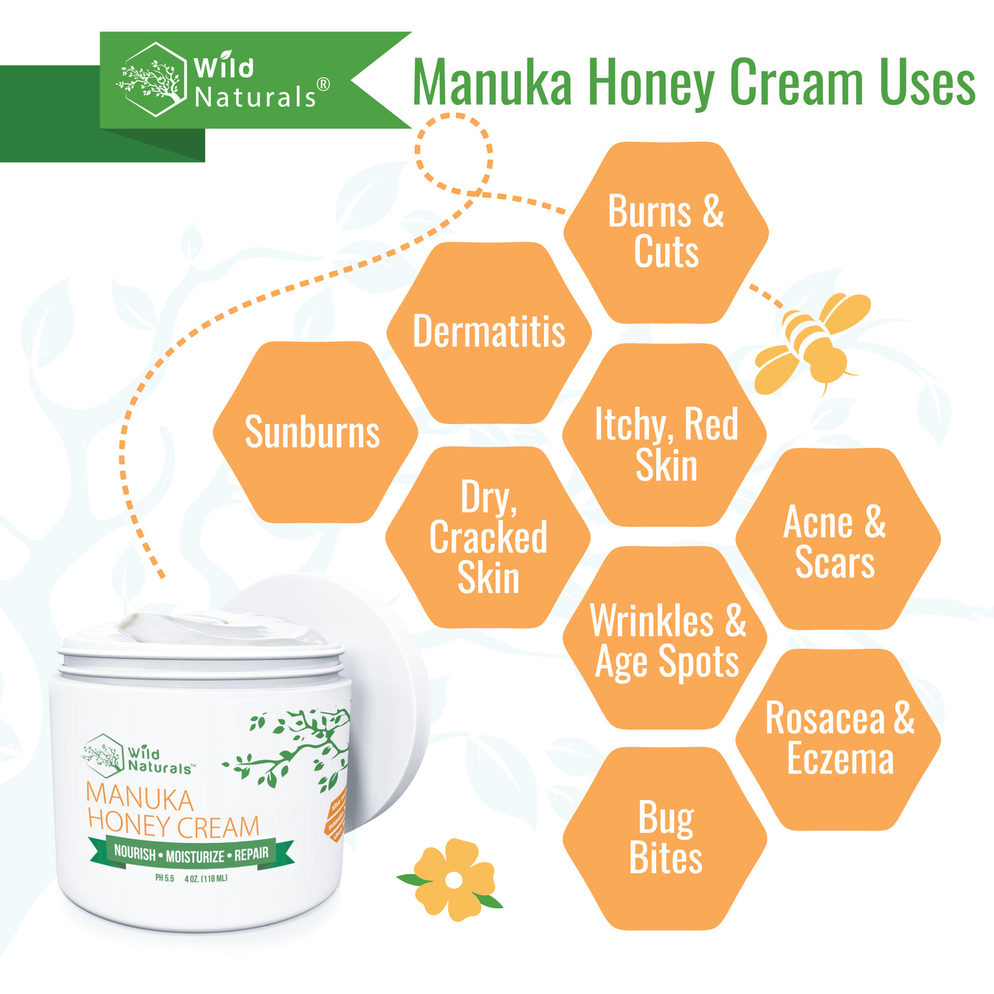 Manuka Honey Cream