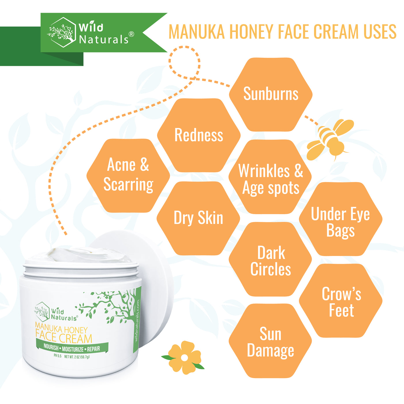 Manuka Honey Face Cream