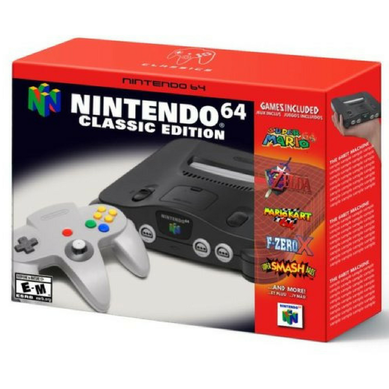 N64 Classic - but what games?