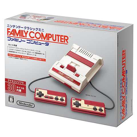 Nintendo Famicom NES Classic Mini with 30 games |
