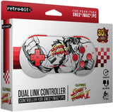 Retro-Bit Street Fighter 2 dual controller compatible with SNES and USB |