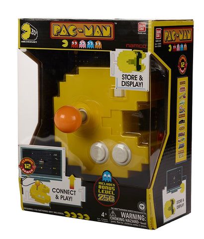 Pac-Man Connect and Play - 12 Games in 1 Console |