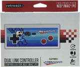Retro-Bit Megaman dual controller compatible with NES and USB |