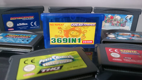369 in 1 Gameboy Advance Cart |