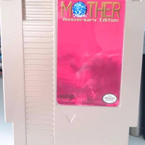 NES Mother 25th Anniversary Edition Custom Cart |