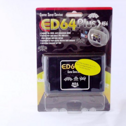 ED64 Everdrive compatible with Nintendo 64 |