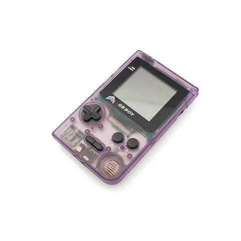 GB Boy Classic Gameboy Handheld Console - Transparent Purple |