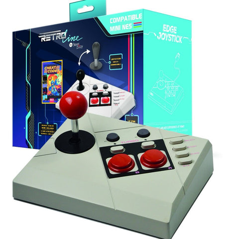 Steel Play Edge Joystick compatible with NES Classic Edition |