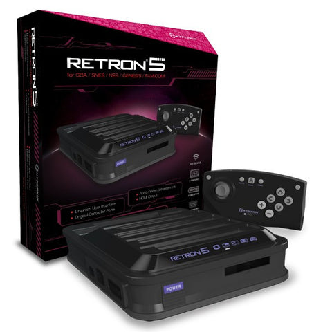 retron 5 retro nes snes genesis megadrive gameboy advance colour retrogaming retrogamer