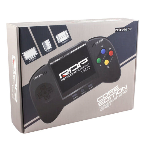RDP Retro Duo Portable and Retrogen Adapter - NES, SNES and Megadrive |