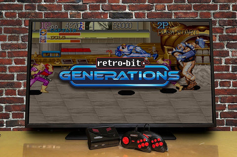 Retrobit Generations with 16GB SD Card and thousands of retro games |