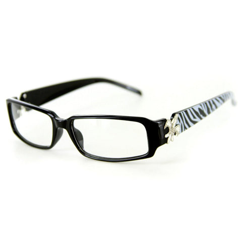 """... """"Cabaret"""" Clear Lens Fashion Glasses with No Maginification & 100% UV  Protection ..."""
