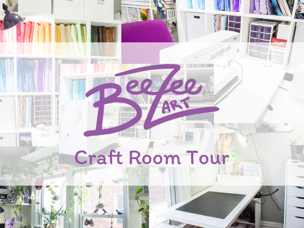 Craft Room Tour 2018