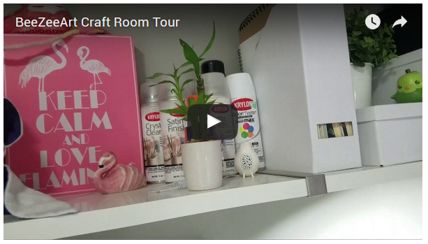Craft Room Tour!