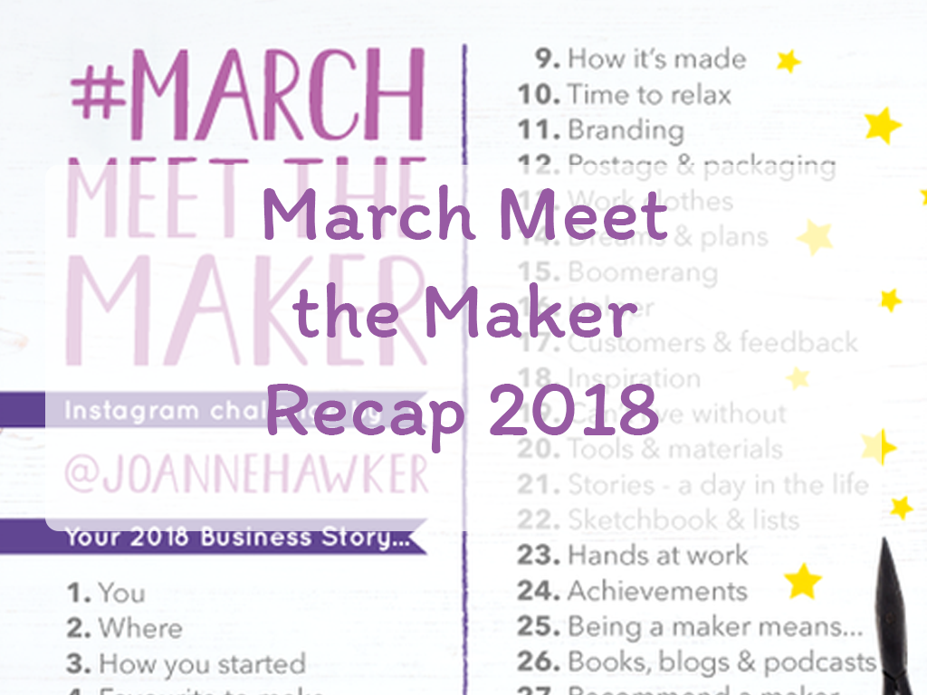 March Meet the Maker 2018 Recap
