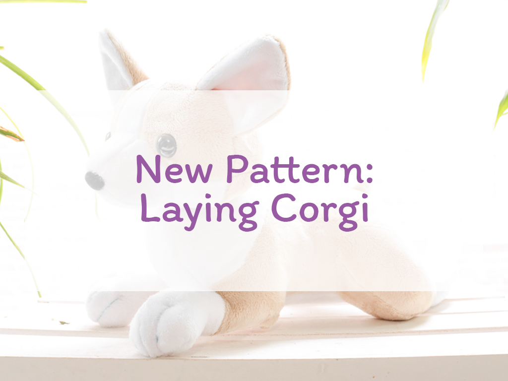 New Pattern: Laying Corgi