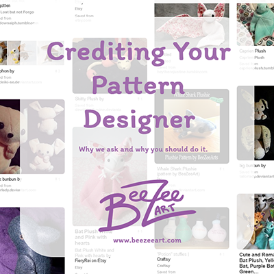 Crediting Your Pattern Designer