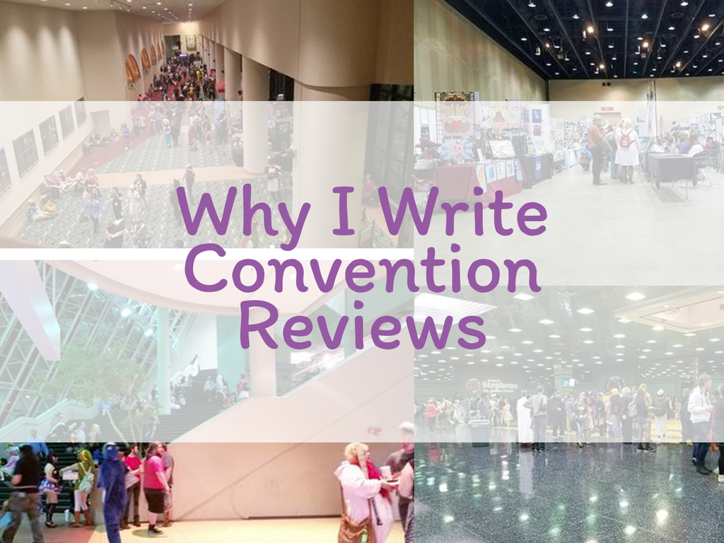 Why I Write Convention Reviews