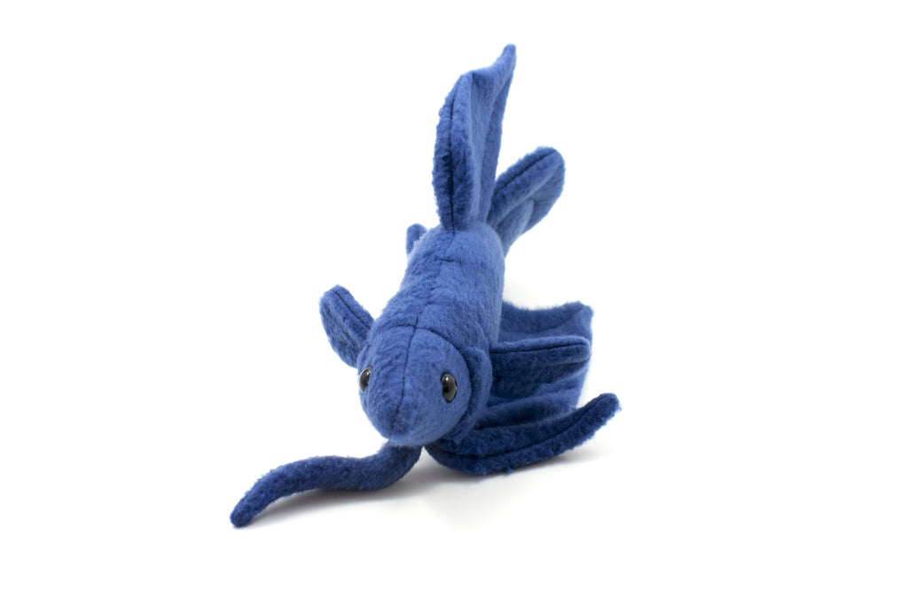 Betta Fish Stuffed Animal Sewing Pattern  - Digital Download - BeeZeeArt - 3