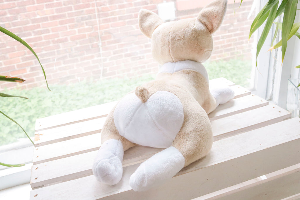 Corgi Stuffed Animal Plush Toy, Plushie, Stuffed Corgi