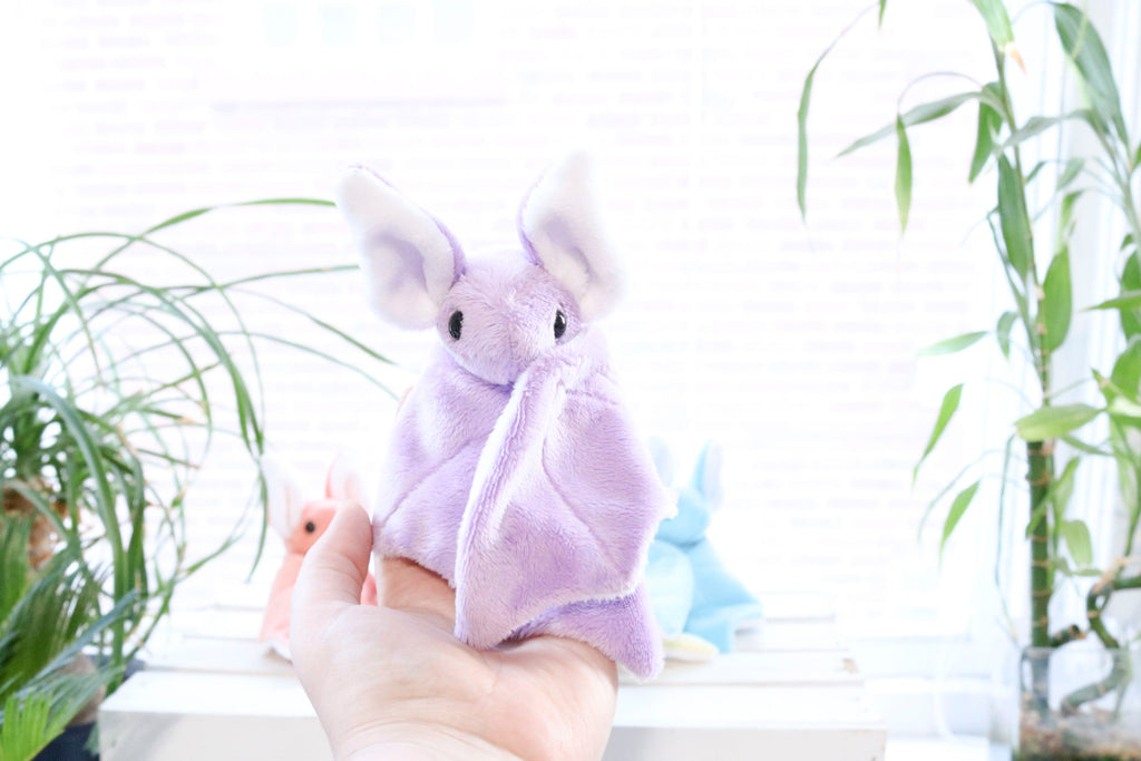 Custom Bat Stuffed Animal Plush Toy - MADE TO ORDER