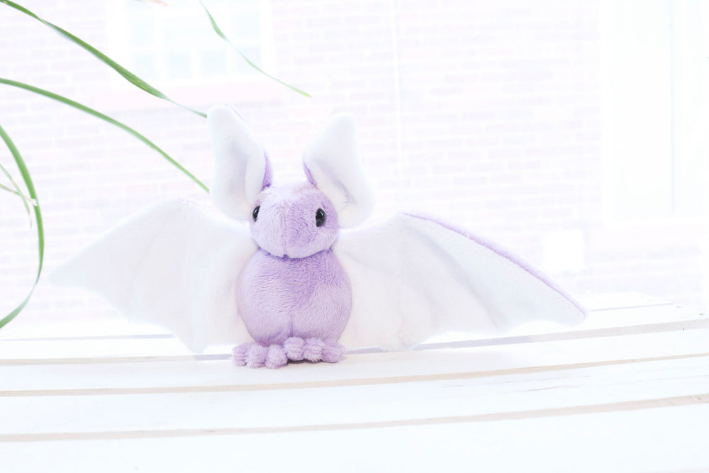 Custom Bat Stuffed Animal Plush Toy - MADE TO ORDER, Stuffed Animal, BeeZeeArt