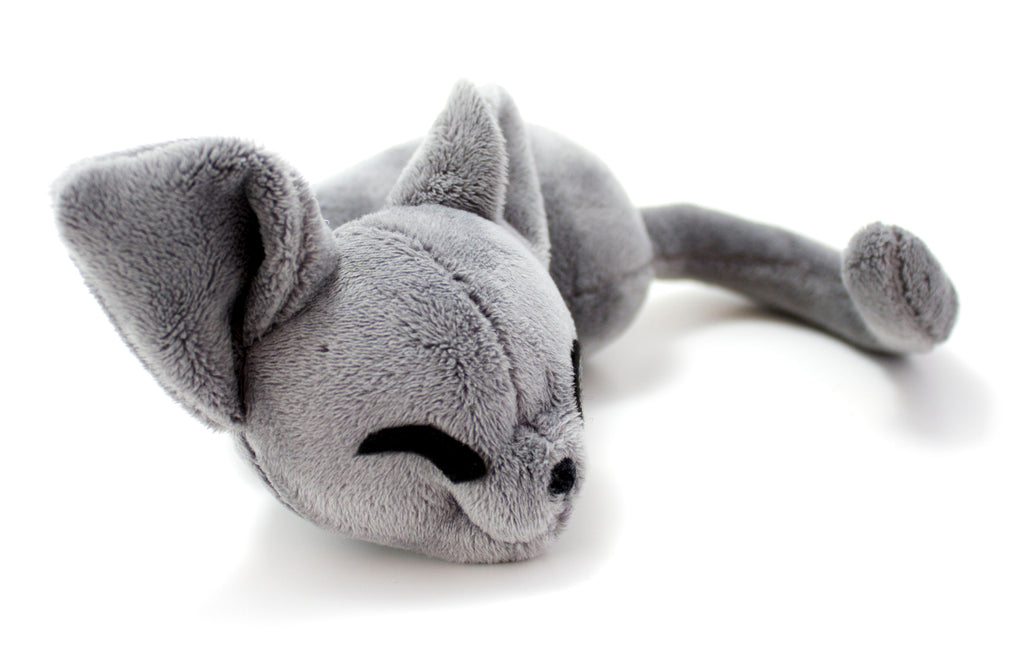 Sleepy Cat Stuffed Animal Sewing Pattern, PDF Plush Pattern, Digital Download