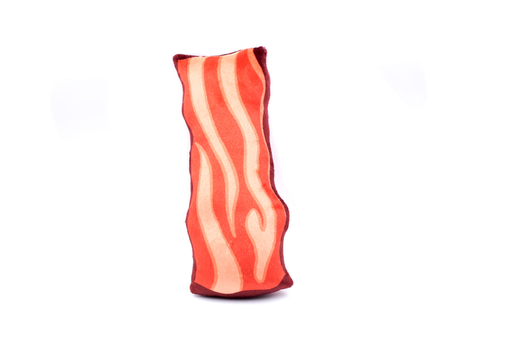 Stuffed Bacon Plush Toy - Happy