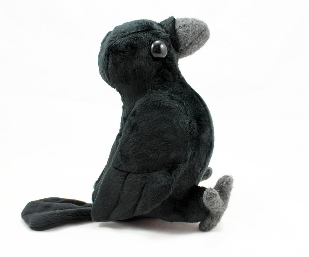 Crow Stuffed Animal Sewing Pattern  - Digital Download, Pattern, BeeZeeArt