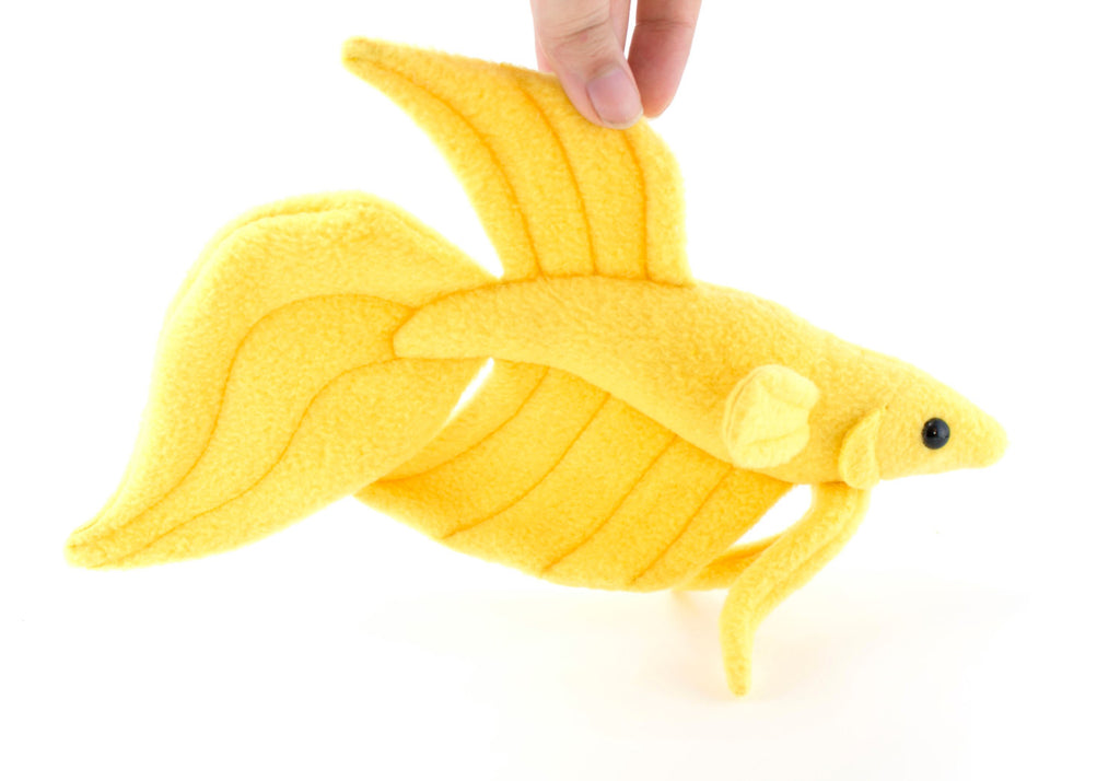 Betta Fish Stuffed Animal Sewing Pattern  - Digital Download, Pattern, BeeZeeArt